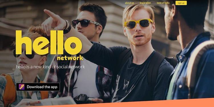 Criador da rede social hello pretende expandir o aplicativo para outros países.