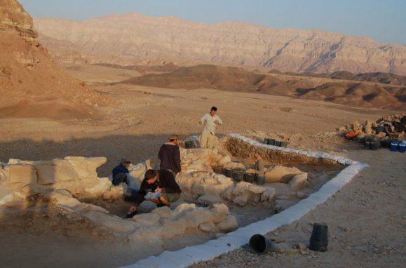 Os arqueólogos encontraram pilhas de esterco e interpretaram estas áreas como estábulos de burros