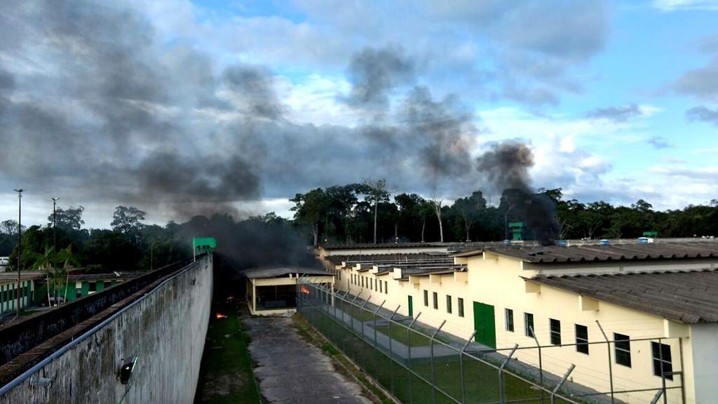 Complexo penitenciário Anísio Jobim (Compaj), em Manaus (AM)
