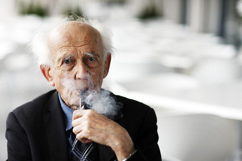 O filósofo e sociólogo polonês Zygmunt Bauman