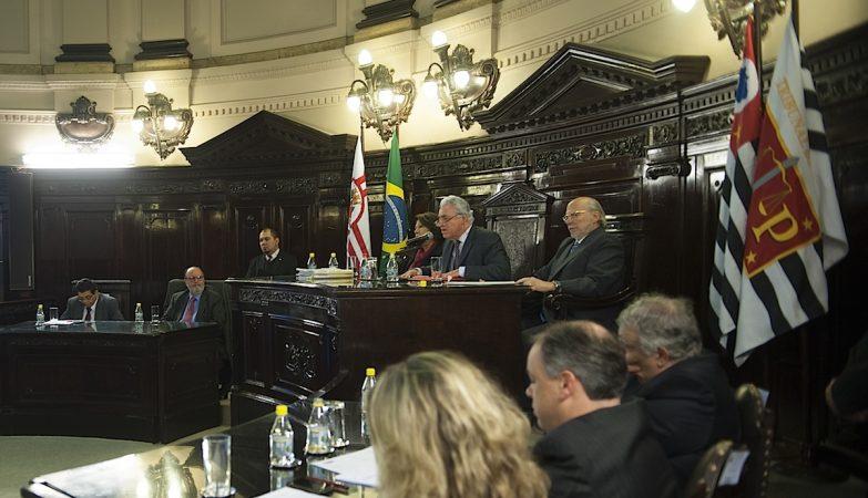 Audiência do Tribunal de Justiça de São Paulo
