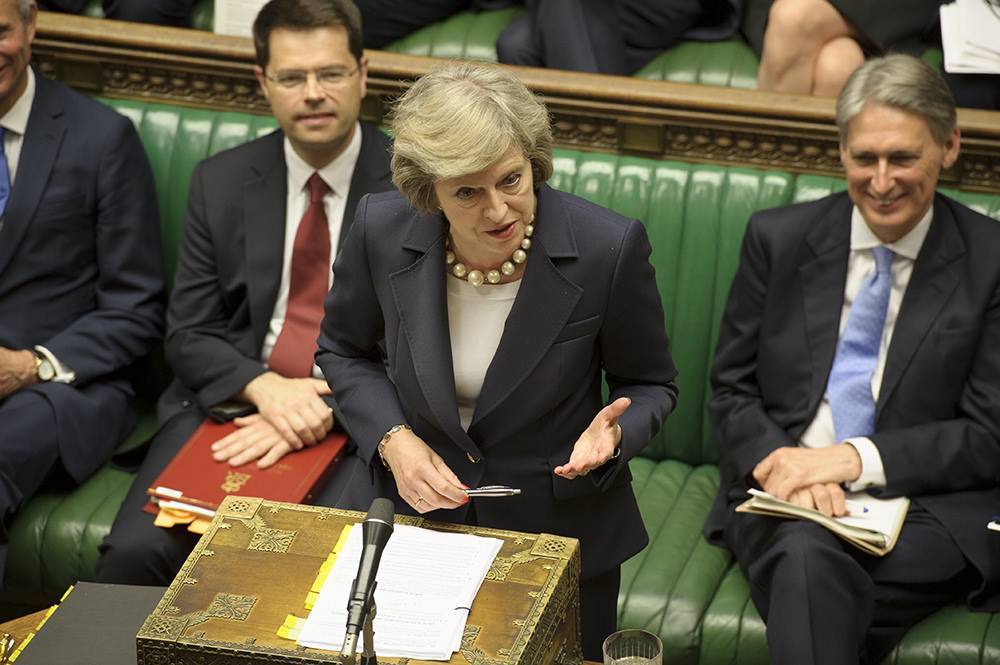 Theresa May, Primeira-Ministra britânica do Reino Unido