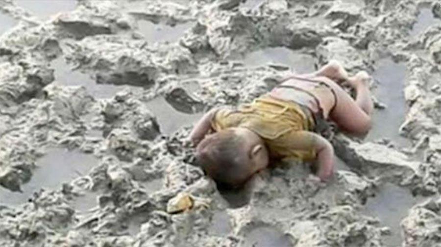 Mohammed Shohayet, o bebé rohingya morto que se tornou o Aylan Kurdi da Birmânia