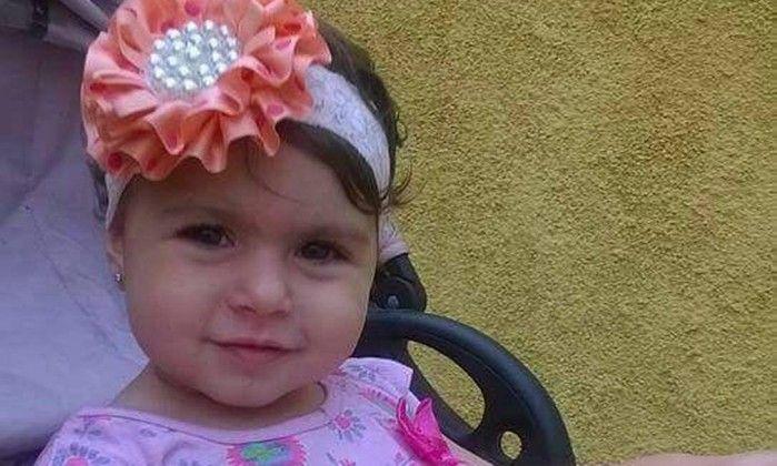 Sofia Lara Braga, vítima de bala perdida no Rio