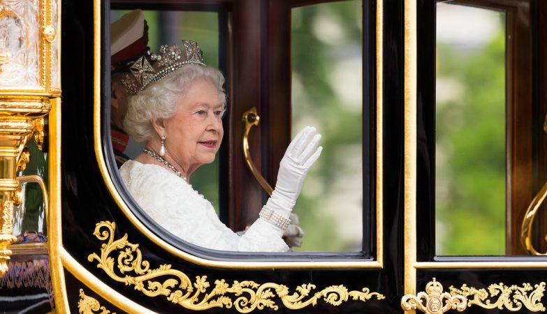 A rainha Isabel II de Inglaterra