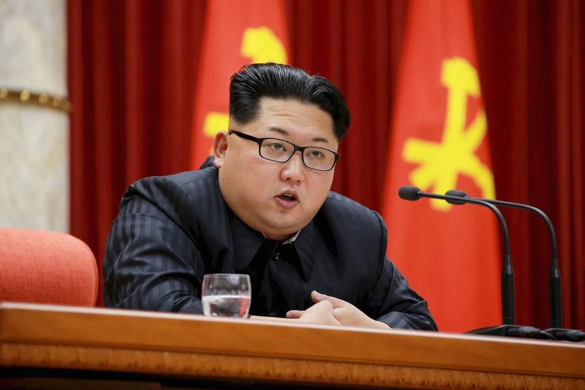 O líder da Coreia do Norte, Kim Jong-un