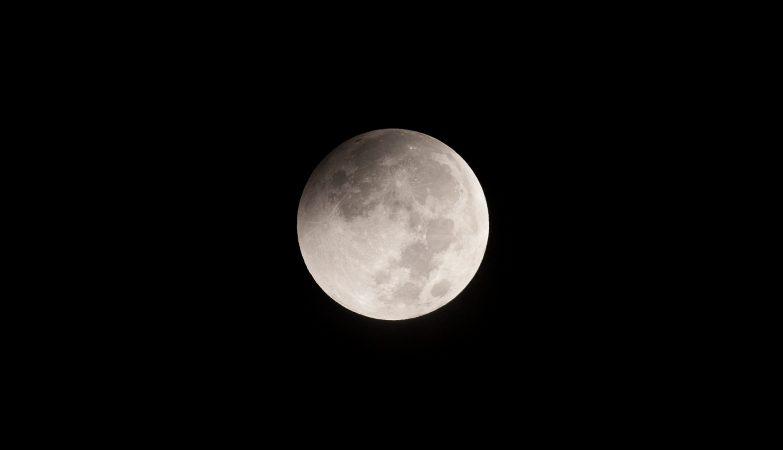 O fenômeno tem início previsto para as 20h34, no horário de Brasília