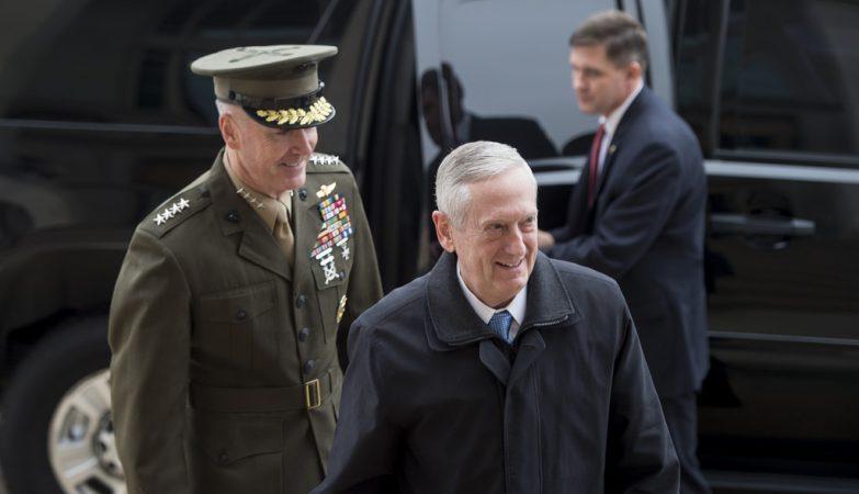O Secretário de Defesa dos Estados Unidos, James Mattis
