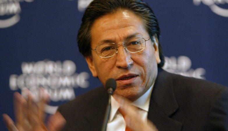 O ex-presidente do Perú, Alejandro Toledo Manrique