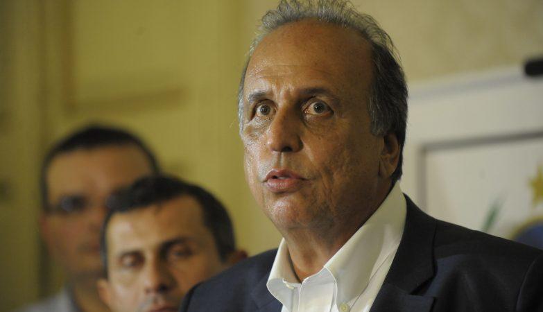 O governador do Rio de Janeiro, Luiz Fernando Pezão,