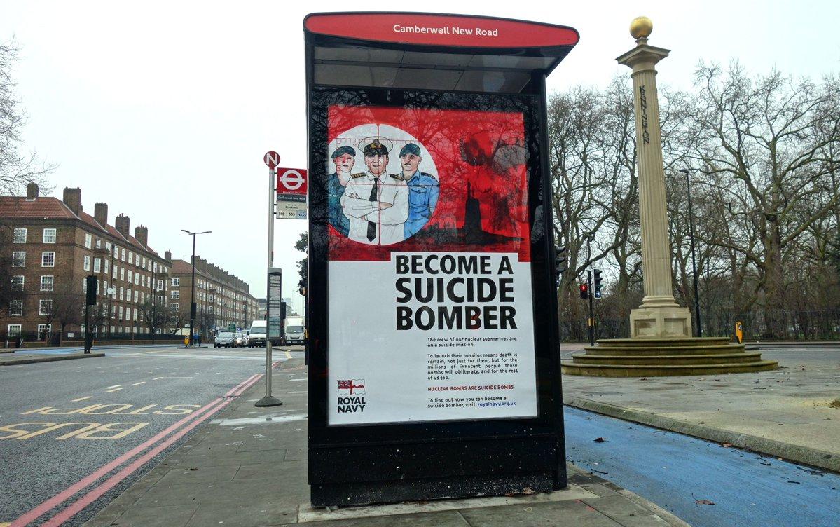 """""""Become a Suicide Bomber"""", Seja um Bombista Suicida"""