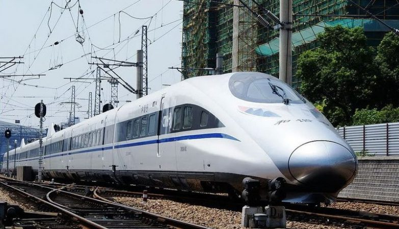 Comboio chinês de alta velocidade (CRH) CRH-2 380A