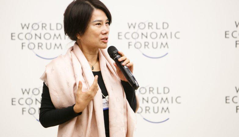 Dong Mingzhu, presidente da Gree Electric Appliances,