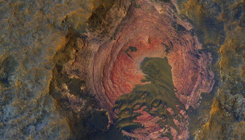 O 'coração' de Marte