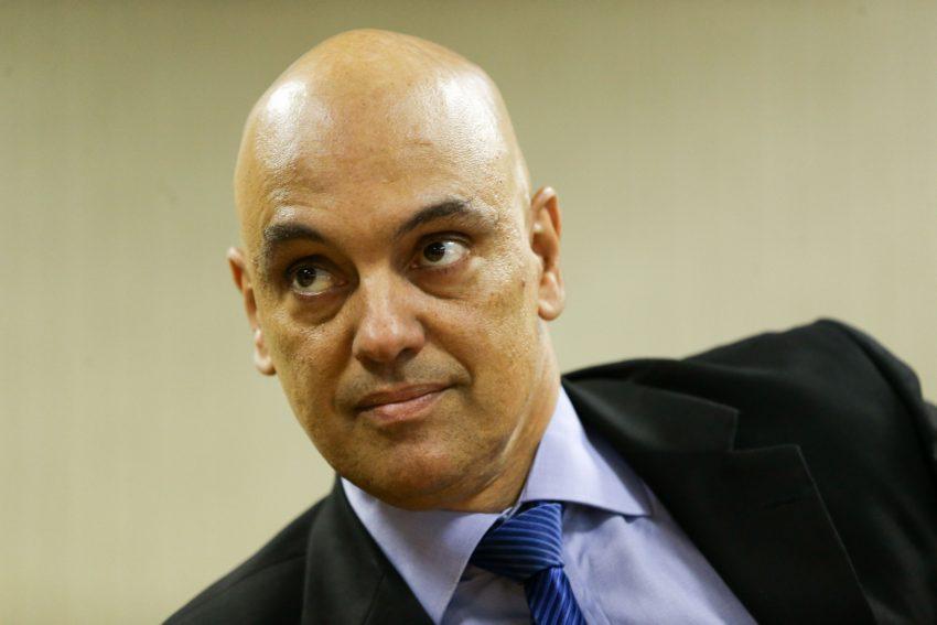 O ministro da Justiça e Cidadania, Alexandre de Moraes