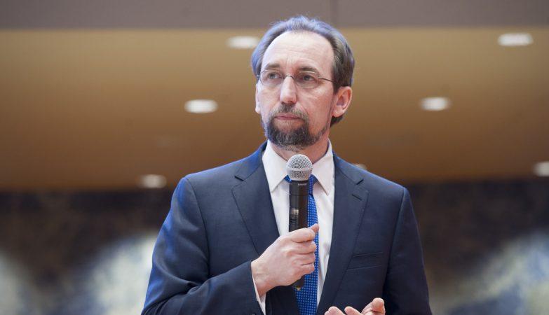 Alto Comissário da ONU Zeid Ra'ad Al Hussein