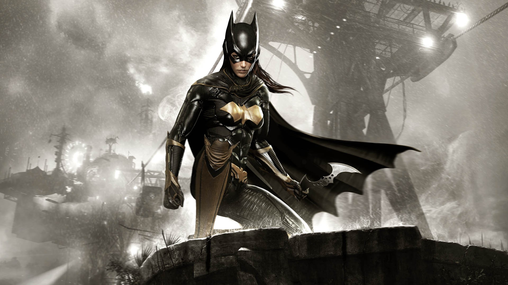 "Batgirl, ""Batman Arkham Knight """