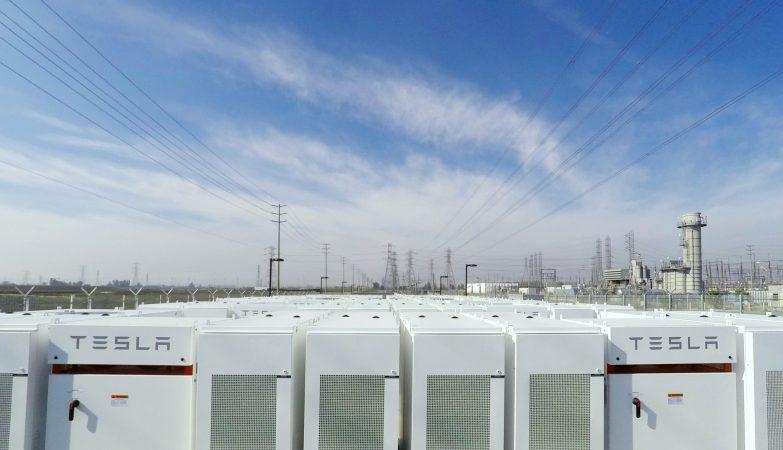 Central de Energia da Tesla no estado norte-americano da Califórnia