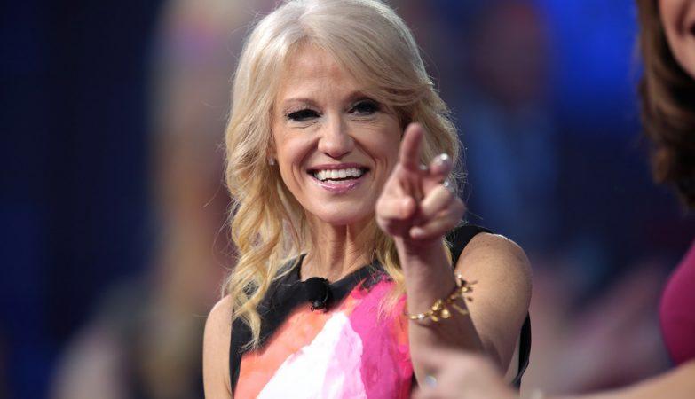 A conselheira do presidente dos Estados Unidos Donald Trump, Kellyanne Conway