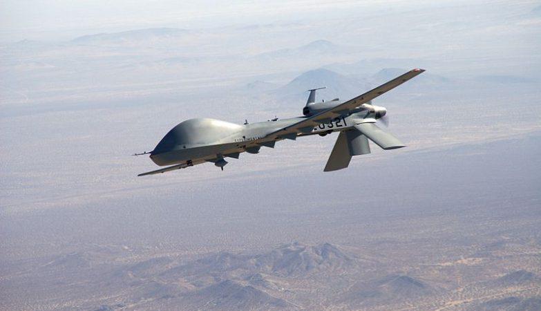 Drone MQ-1C Sky Warrior do exército dos EUA