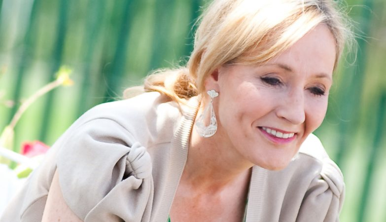 A autora JK Rowling