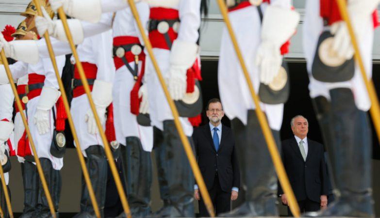 Mariano Rajoy e Michel Temer