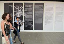 """Exposição """"O céu ainda é azul, você sabe... """", da artista Yoko Ono, no Instituto Tomie Ohtake, S.Paulo"""