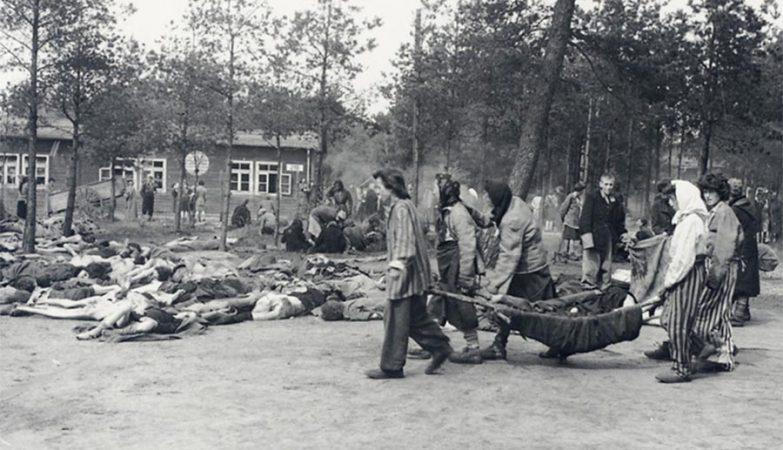 Libertação do Campo de Concentração Nazi de Berger-Belsen, em 17 de Abril de 1945