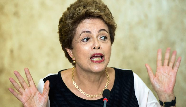 A ex-presidente do Brasil, Dilma Rousseff