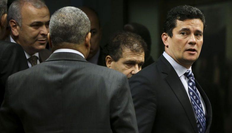 O juiz federal Sérgio Fernando Moro