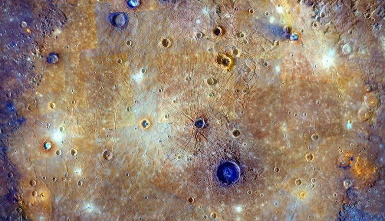 A contração global de Mercúrio começou há mais de 3,85 bilhões de anos