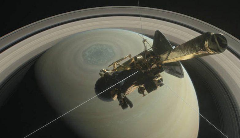 A sonda Cassini da NASA