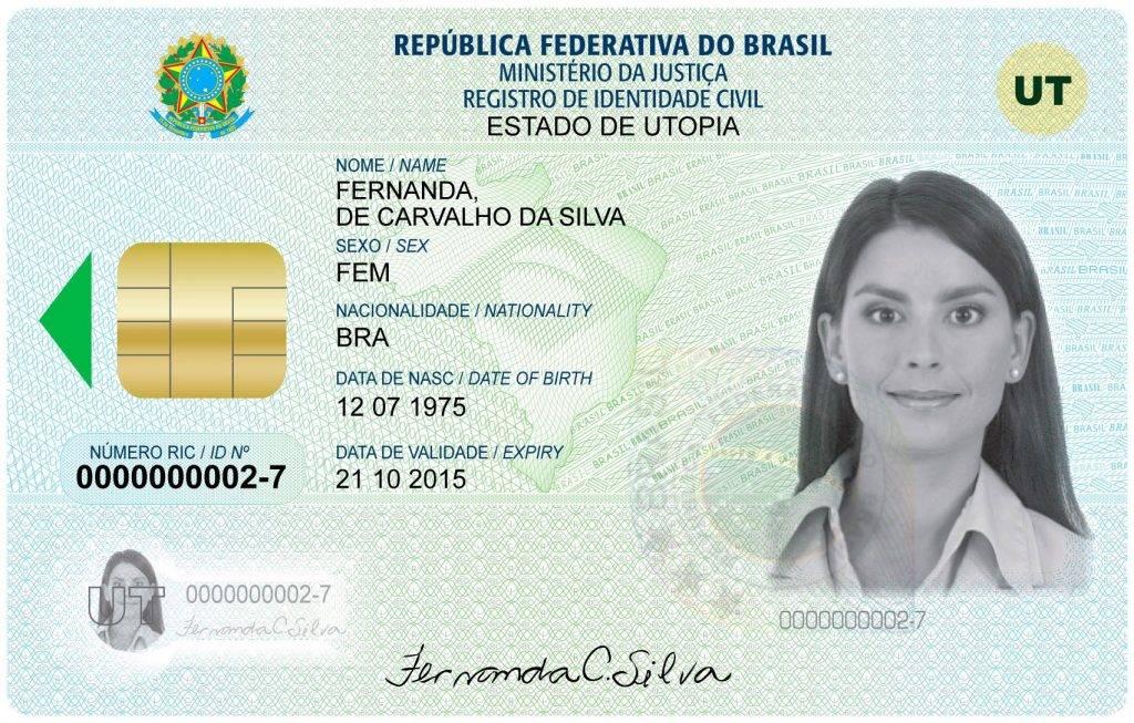 Modelo do Documento de Identificação Nacional (DIN)