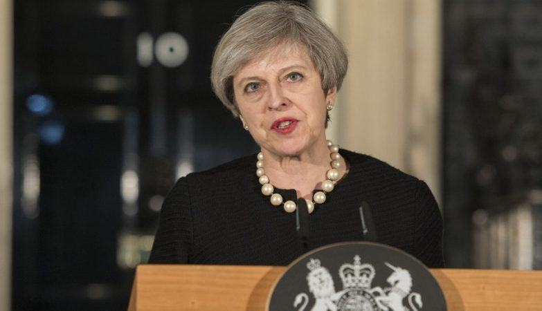 A primeira-ministra britânica Theresa May