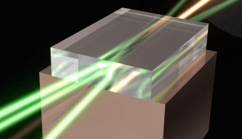 "Diretamente de Star Wars: o raio laser da Estrela da Morte funciona mesmo. O ""super-laser"" australiano junta o poder de vários raios laser num só feixe convergente super poderoso."