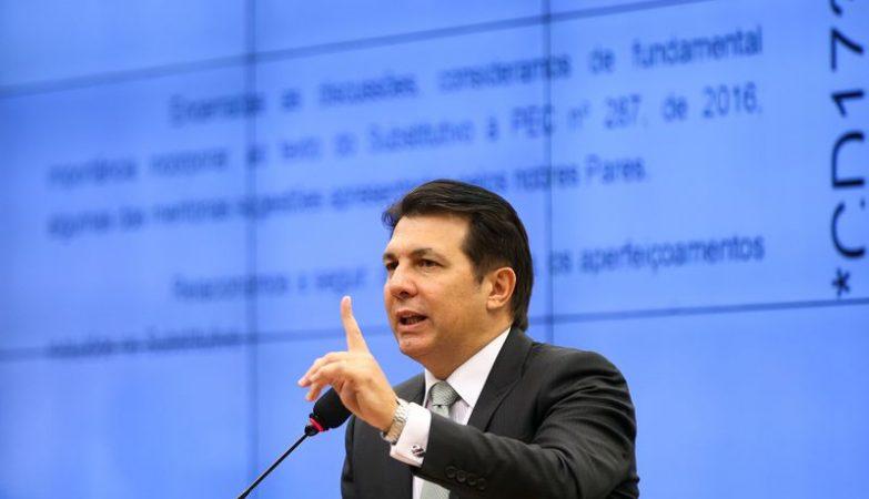 O relator deputado Arthur Maia (PPS-BA)