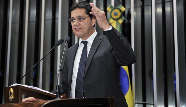 O senador Ricardo Ferraço (PSDB-ES), relator da reforma trabalhista