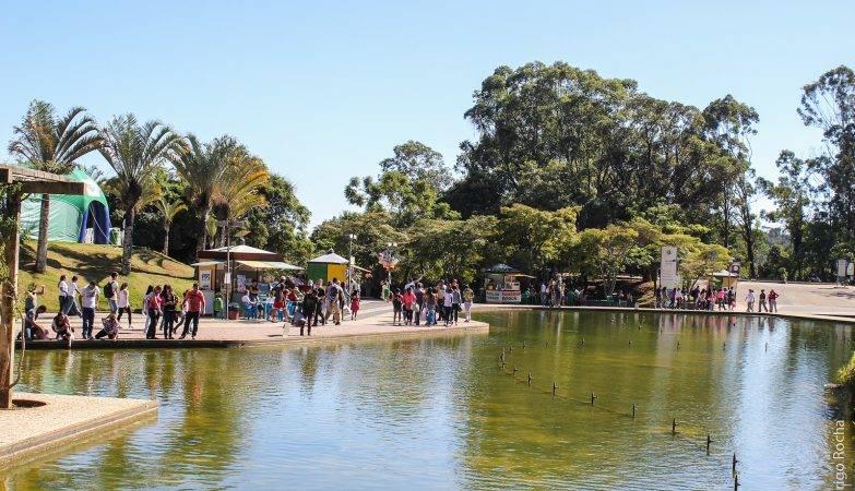Parque das Mangabeiras na capital mineira