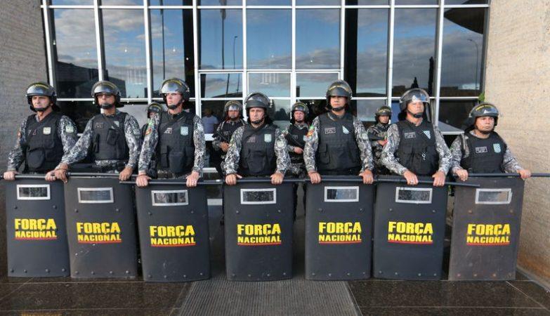 Em ato contra a reforma da Previdência, agentes penitenciários de vários estados também entraram no prédio do Ministério da Justiça no dia 2