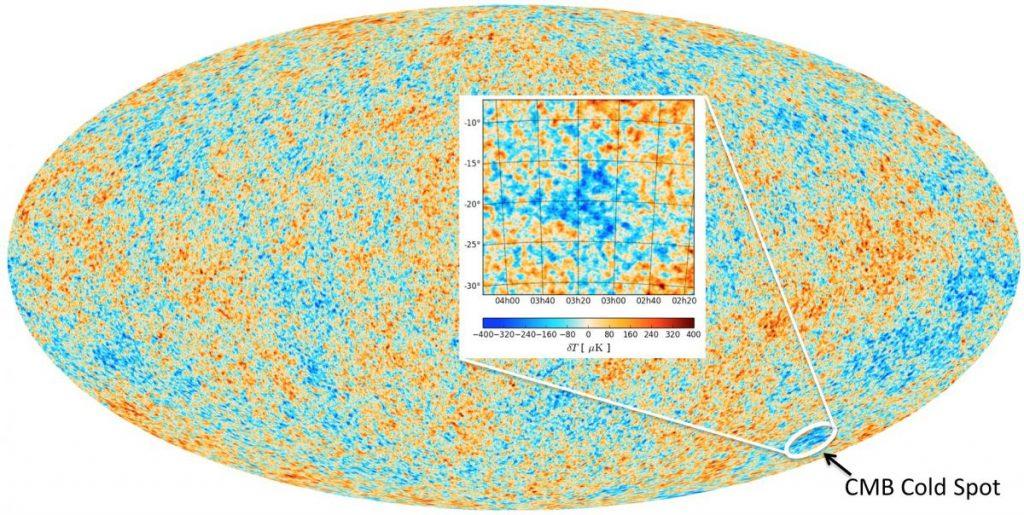 Esse Ponto Frio no Universo pode ser a primeira evidência de que estamos vivendo em um multiverso