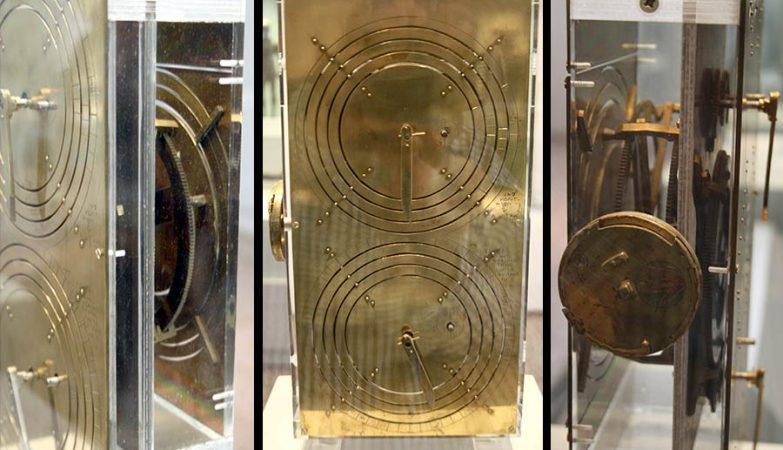 Réplica moderna da Máquina de Anticítera no Museu Arqueológico Nacional de Atenas (Grécia).