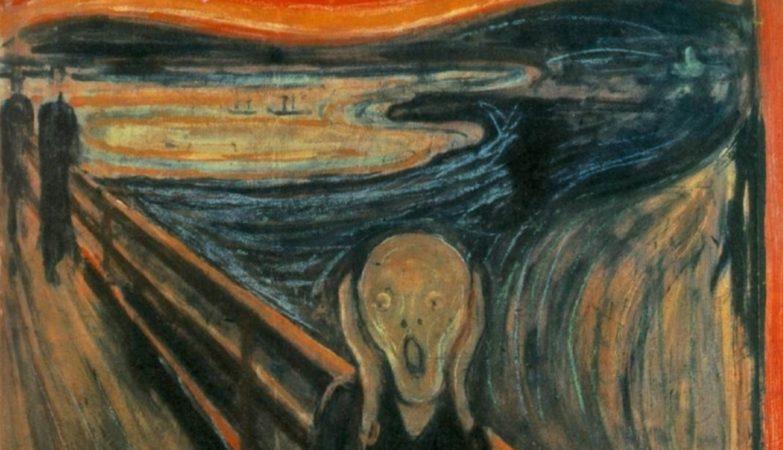 """""""O Grito"""" (1893), de Edvard Munch"""