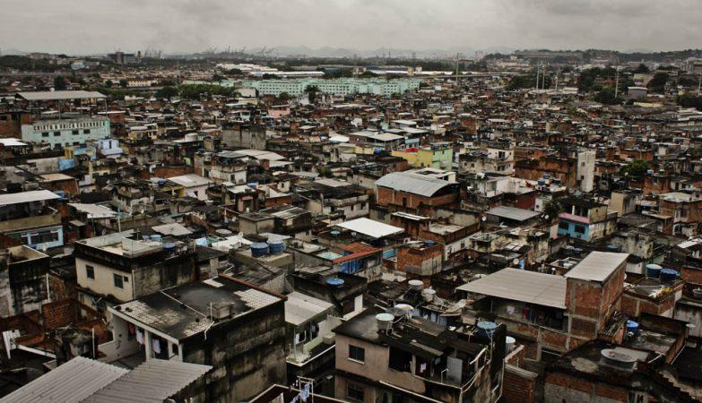 Visão aérea da Favela do Jacarezinho, no Rio de Janeiro