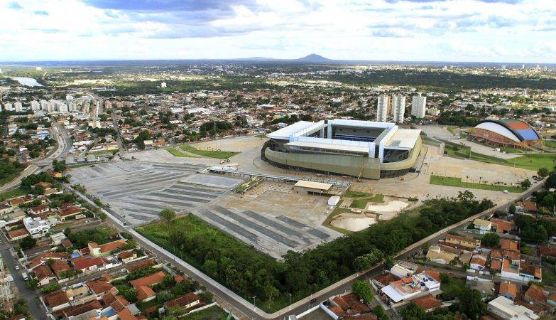 Arena Pantanal, em Cuiabá