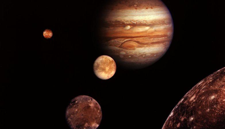 Júpiter e suas luas