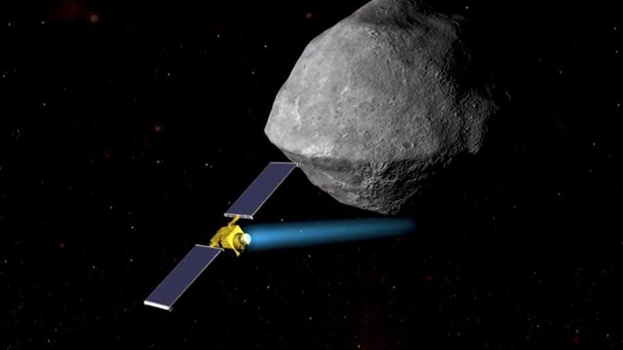 Nasa mostra como ir salvar a terra de um asteroide for Mostra nasa