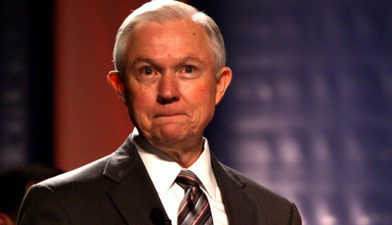 O ministro da Justiça dos EUA, Jeff Sessions