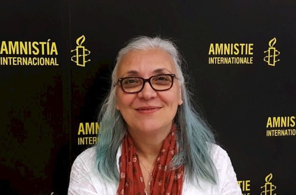 Idil Eser, diretora da Anistia Internacional na Turquia
