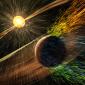 Vida em Marte foi destruída por ventos solares que secaram a atmosfera