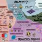 Mapa mostra como tudo na Física está conectado (e são apenas 8 minutos)